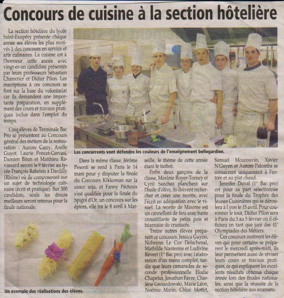 Archives ae annees 2010 et 2011 - Resultat bac pro cuisine ...